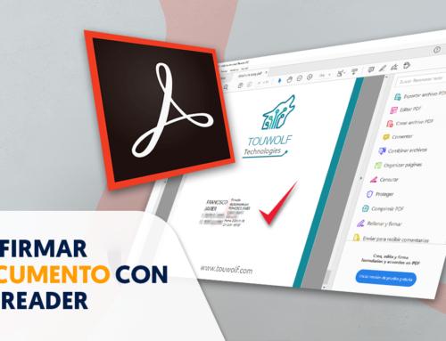 Cómo firmar un documento pdf con Adobe Reader