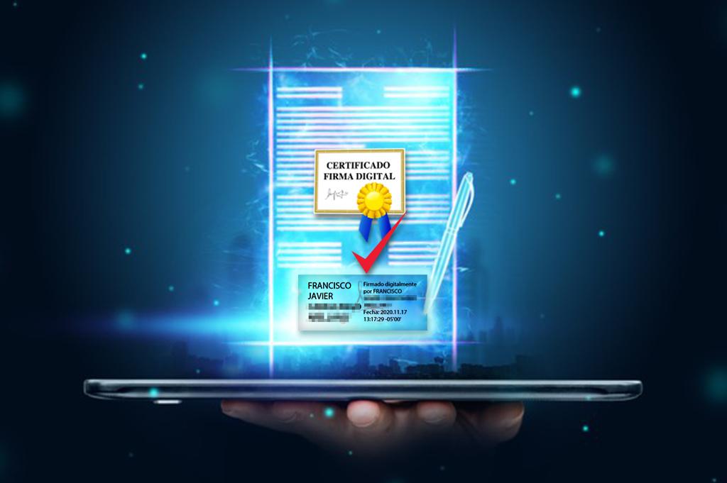certificado de firma electronica