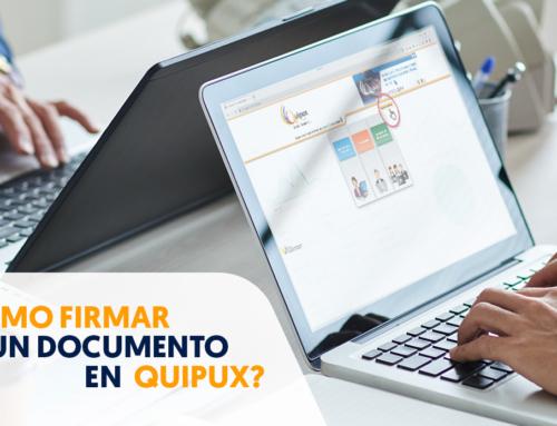 ¿Cómo firmar un documento en Quipux?