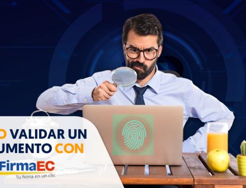 Cómo validar un documento con FirmaEC