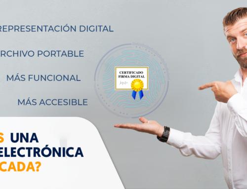 ¿Qué es una firma electrónica certificada?