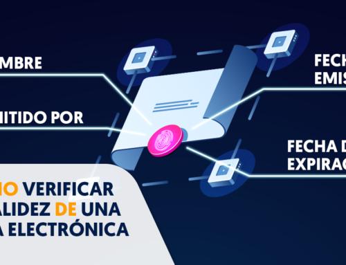 Cómo verificar la validez de una Firma Electrónica con Firma EC