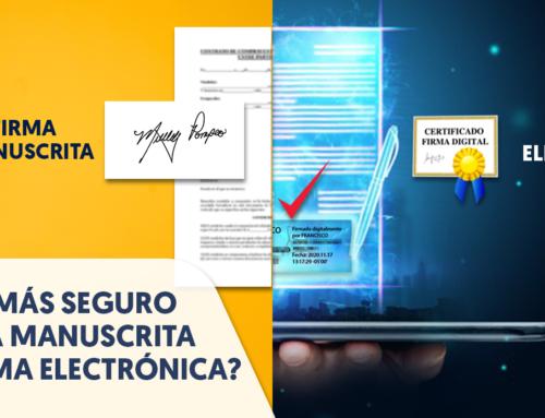 ¿Qué es más seguro, la firma manuscrita o la firma electrónica cualificada?