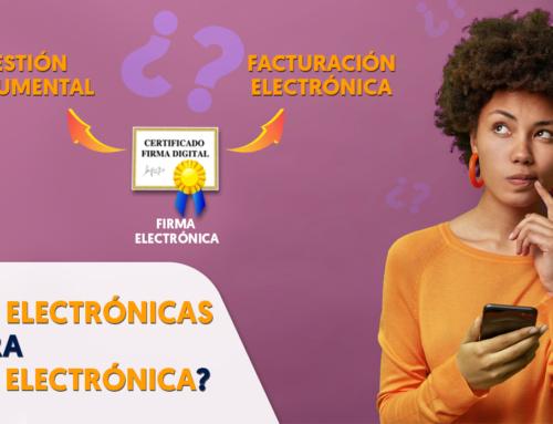 ¿Todas las firmas electrónicas funcionan para facturación electrónica?